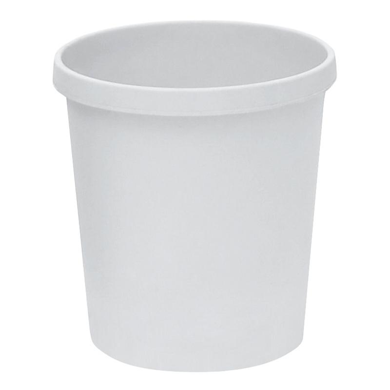 Papierkorb, weiß