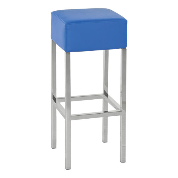 Barhocker Cube, blau