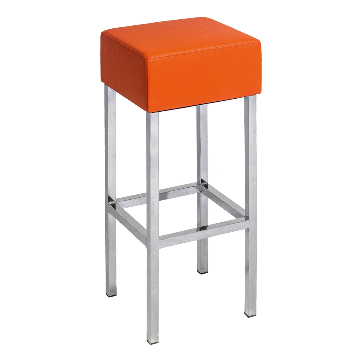 Barhocker Cube, orange