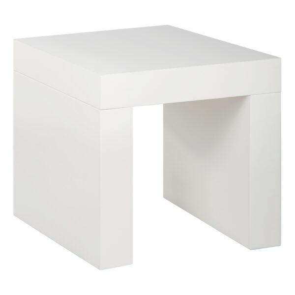 Beistelltisch Blanco 45, weiß