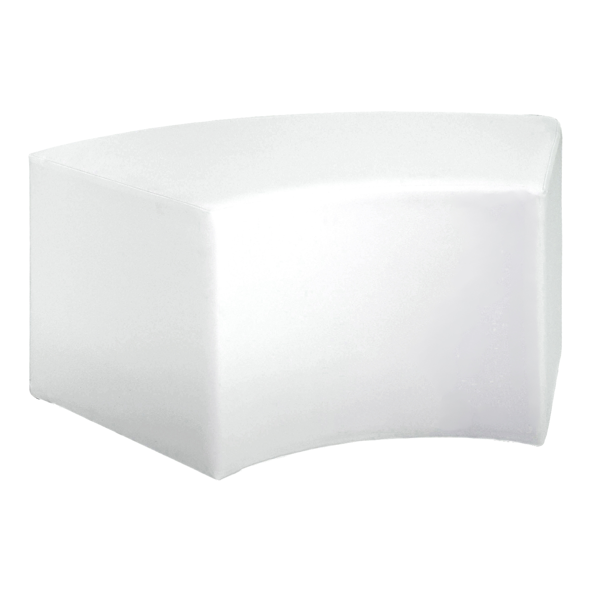 Hocker Cubi Curve, weiß