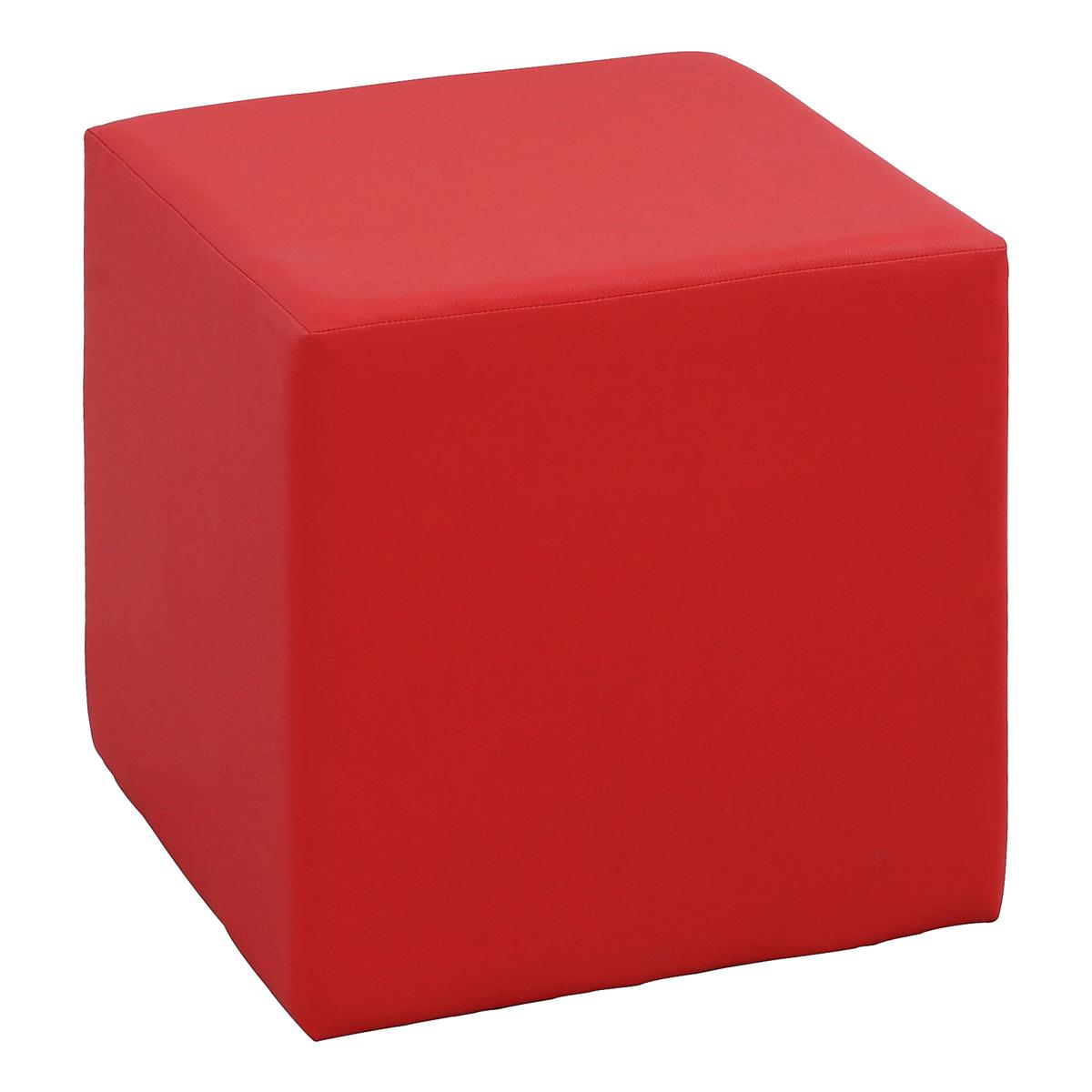 Hocker Cubi, rot