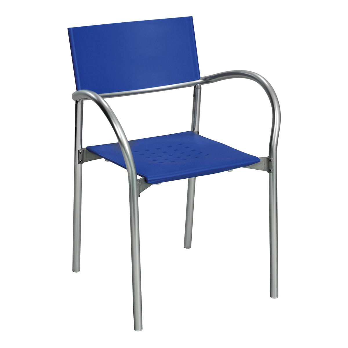 Stuhl Breeze, blau
