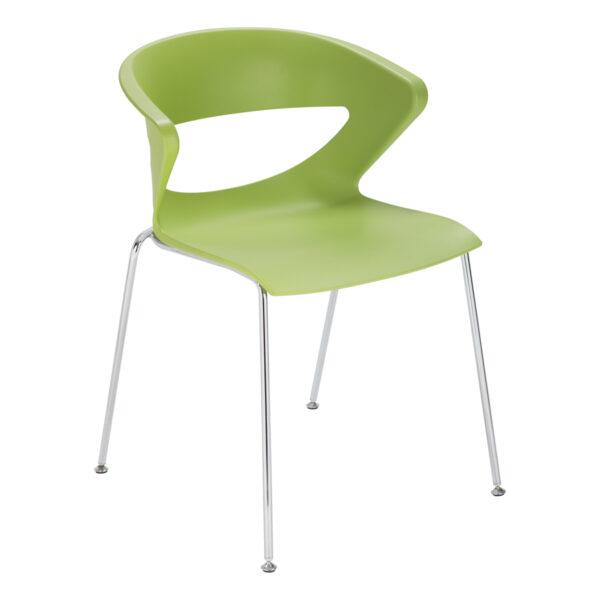 Stuhl Kicca, grün
