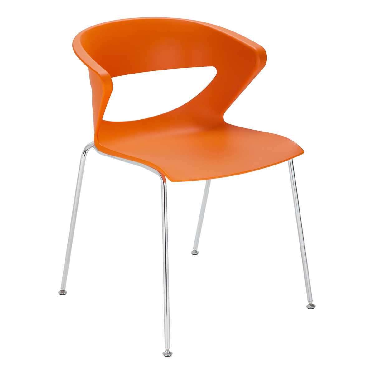 Stuhl Kicca, orange