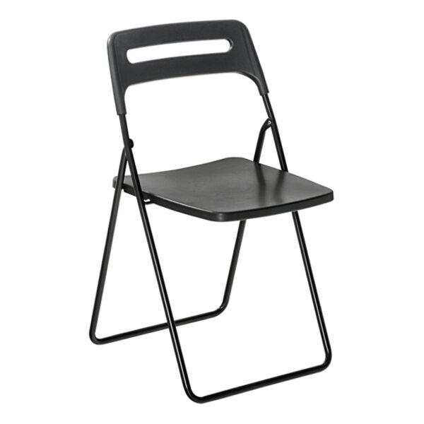 Stuhl Klappstuhl, schwarz