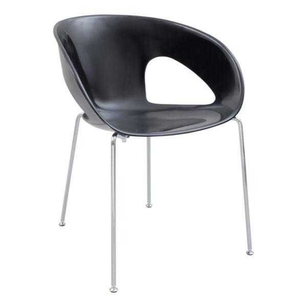 Stuhl Krizia, schwarz