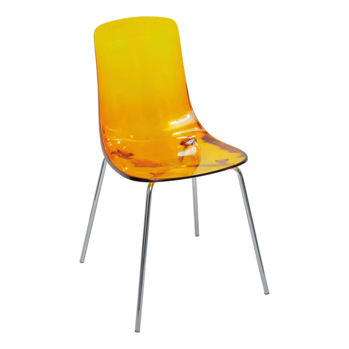 Stuhl Pauline, orange