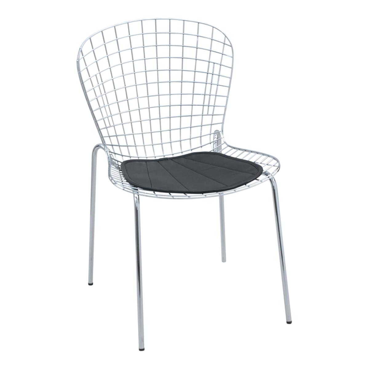 Stuhl Tempi, schwarz