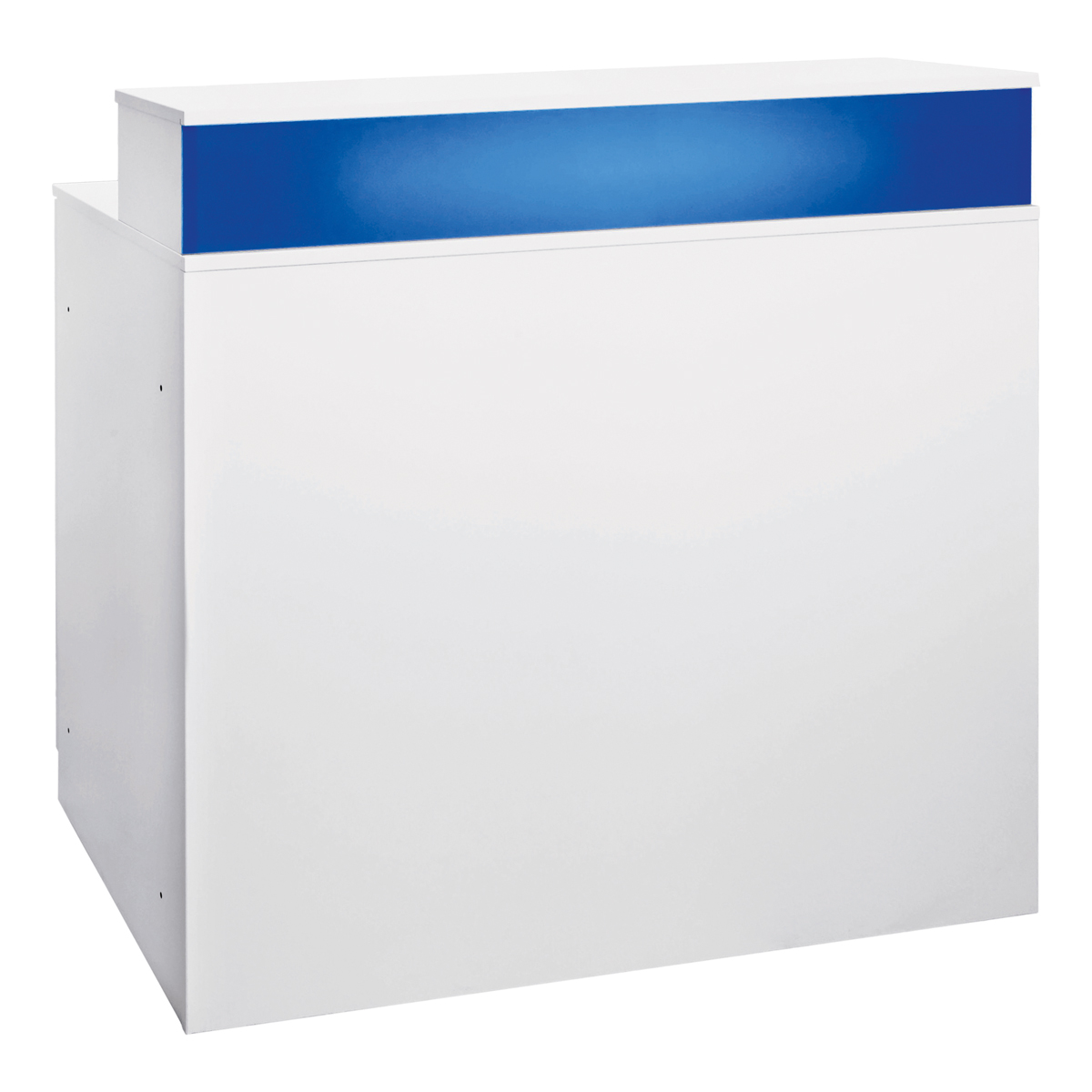 Theke Bianco, blau