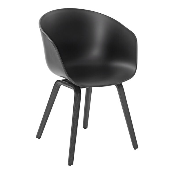 Stuhl About a Chair, schwarz