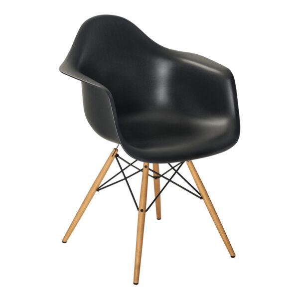 Stuhl DAW, schwarz