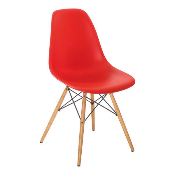 Stuhl DSW, rot