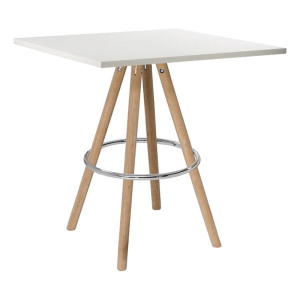 Sitztisch Orso, eckig, weiß