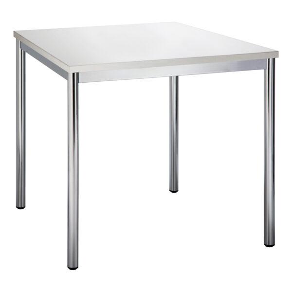 Sitztisch Highline, quadratisch, weiß