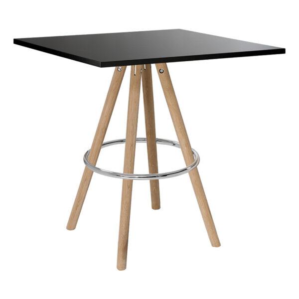 Sitztisch Orso, eckig, schwarz