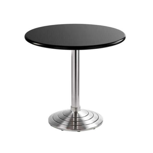 Sitztisch Athen, rund, schwarz