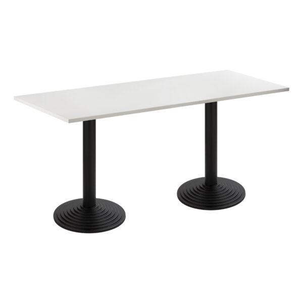 Sitztisch Nizza Doppel, schwarz-weiß