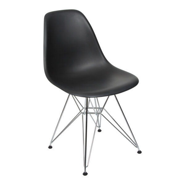 Stuhl DSR, schwarz