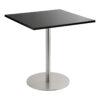 Sitztisch Brio, eckig, schwarz