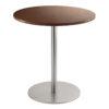 Sitztisch Brio, rund, Nussbaum