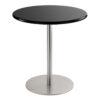 Sitztisch Brio, rund, schwarz