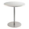 Sitztisch Brio, rund, weiß