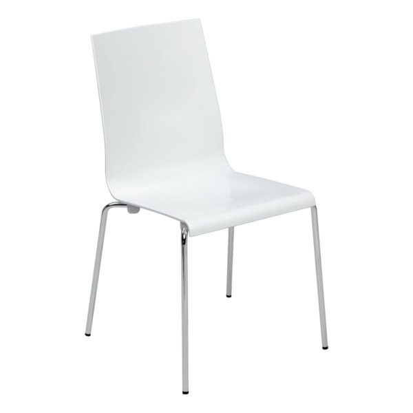 Stuhl Kuadra, weiß