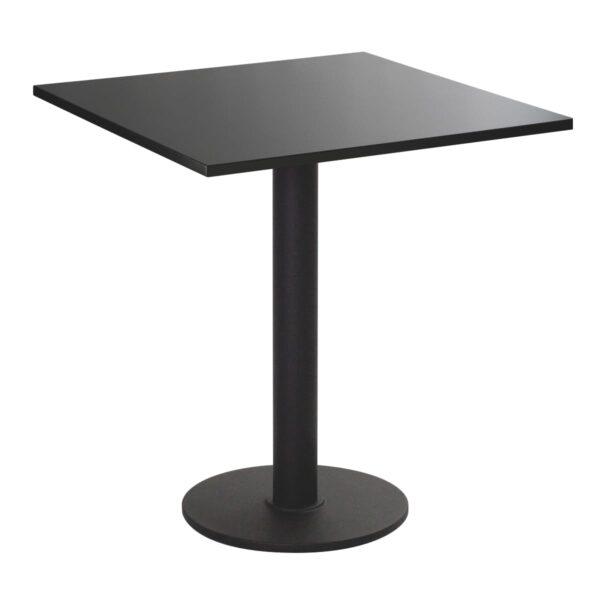 Sitztisch Modo, eckig, schwarz