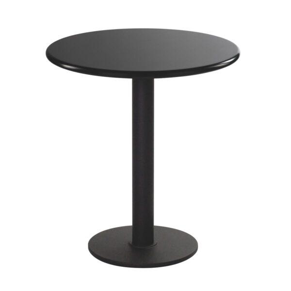 Sitztisch Modo, rund, schwarz